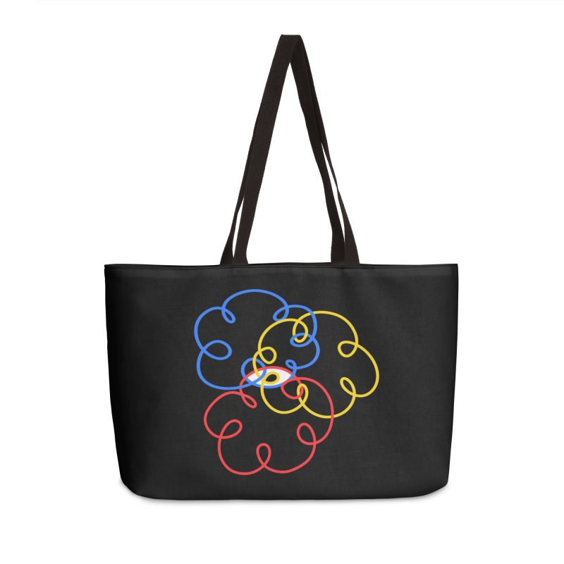 WHERES YOUR SOUL Accessories Weekender Bag Bag by stephupsidefrown's Artist Shop