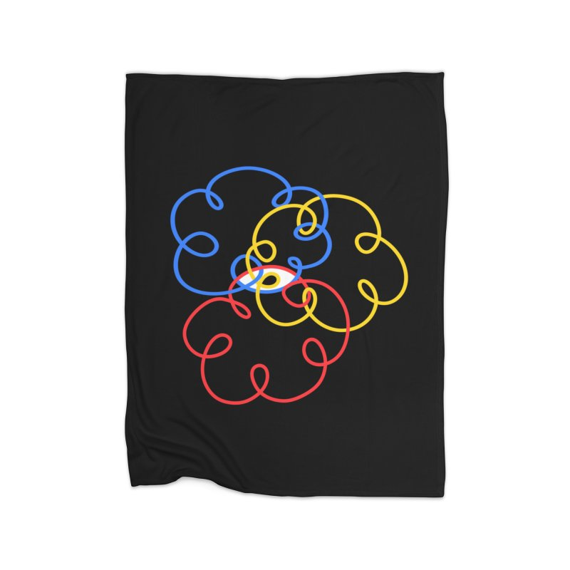 WHERES YOUR SOUL Home Fleece Blanket Blanket by stephupsidefrown's Artist Shop