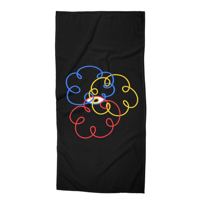 WHERES YOUR SOUL Accessories Beach Towel by stephupsidefrown's Artist Shop