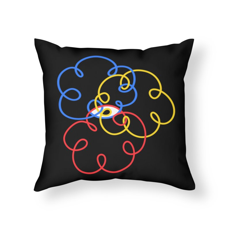 WHERES YOUR SOUL Home Throw Pillow by stephupsidefrown's Artist Shop