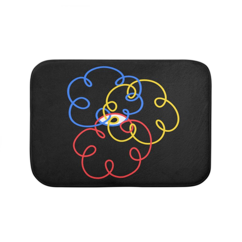 WHERES YOUR SOUL Home Bath Mat by stephupsidefrown's Artist Shop