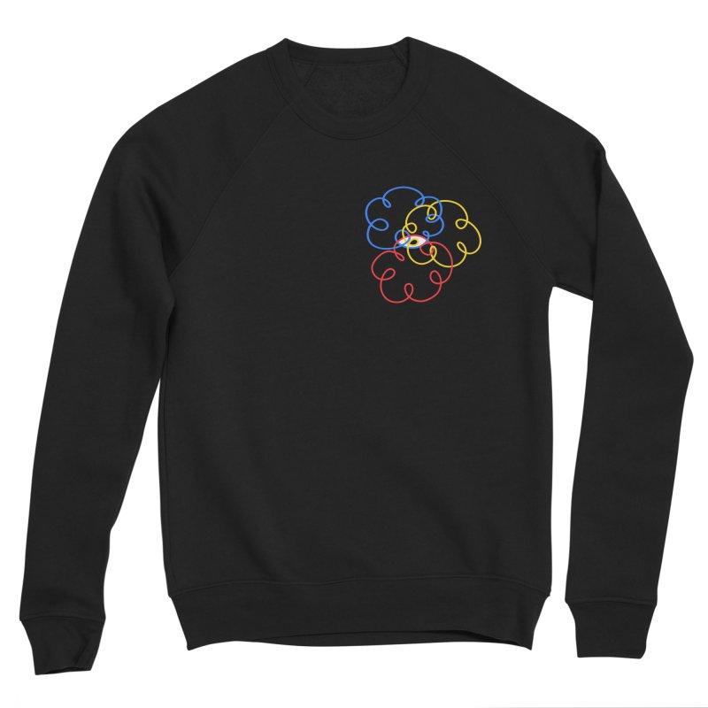 WHERES YOUR SOUL Men's Sponge Fleece Sweatshirt by stephupsidefrown's Artist Shop