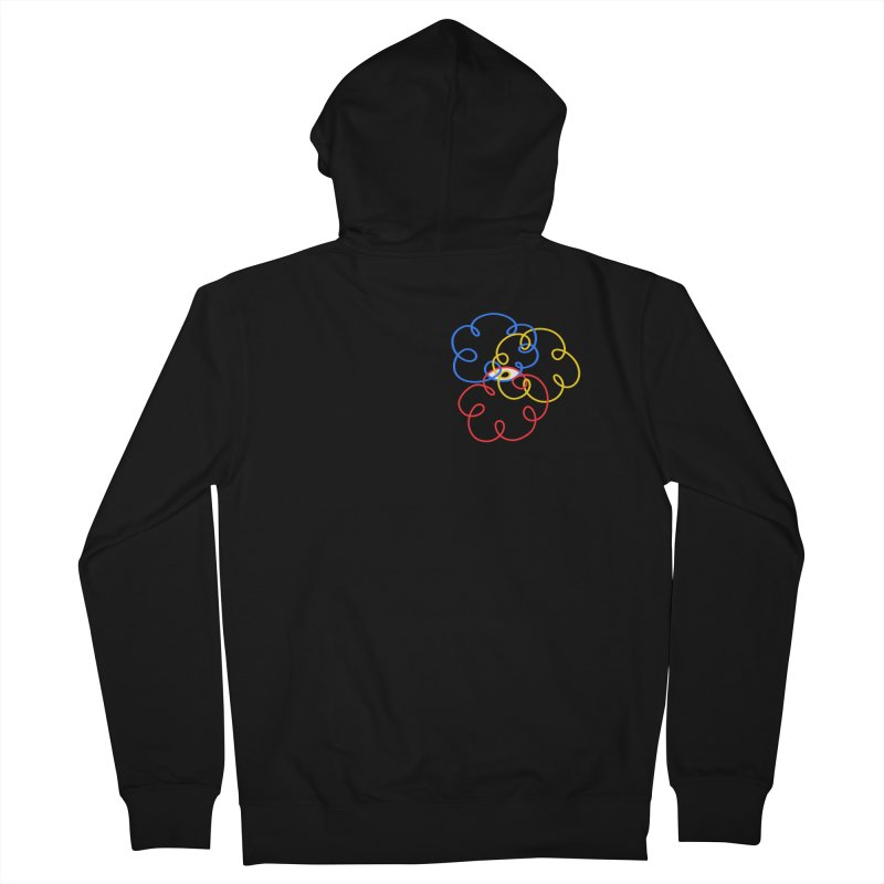 WHERES YOUR SOUL Men's French Terry Zip-Up Hoody by stephupsidefrown's Artist Shop