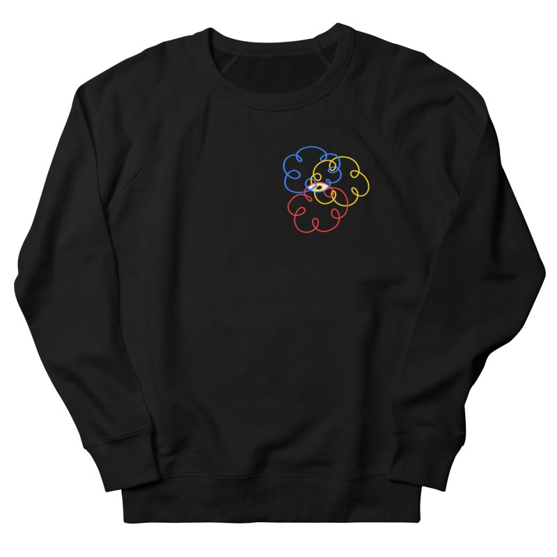 WHERES YOUR SOUL Women's French Terry Sweatshirt by stephupsidefrown's Artist Shop