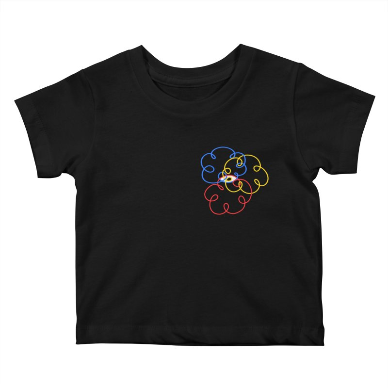 WHERES YOUR SOUL Kids Baby T-Shirt by stephupsidefrown's Artist Shop