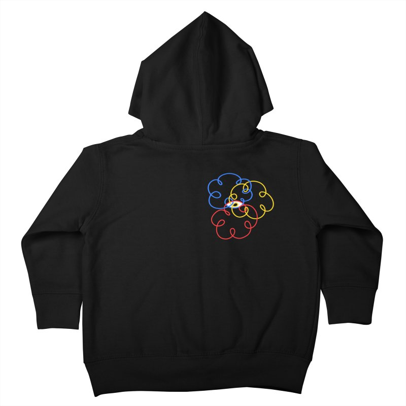 WHERES YOUR SOUL Kids Toddler Zip-Up Hoody by stephupsidefrown's Artist Shop