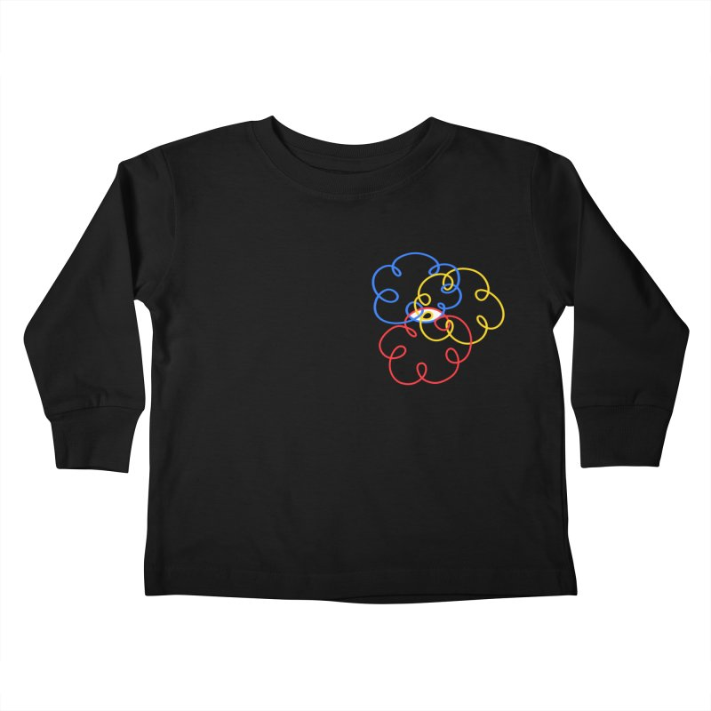 WHERES YOUR SOUL Kids Toddler Longsleeve T-Shirt by stephupsidefrown's Artist Shop