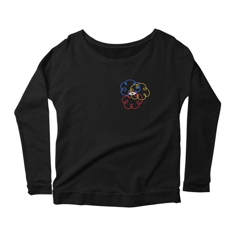 WHERES YOUR SOUL Women's Scoop Neck Longsleeve T-Shirt by stephupsidefrown's Artist Shop