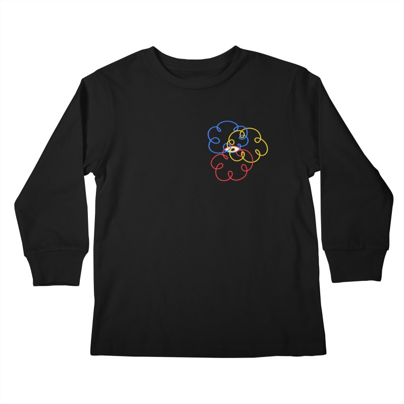 WHERES YOUR SOUL Kids Longsleeve T-Shirt by stephupsidefrown's Artist Shop