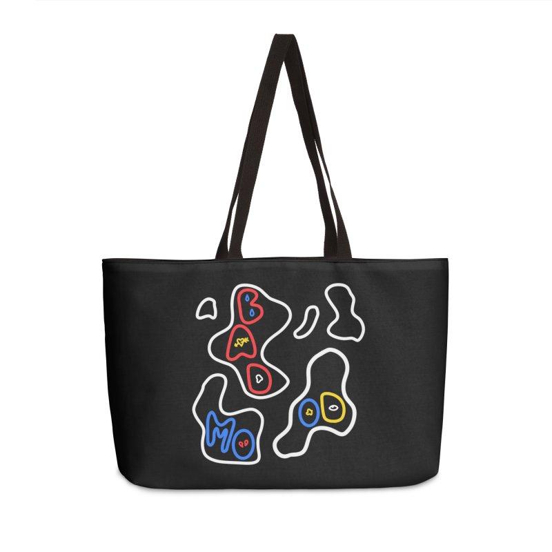 BAD MOO(D) Accessories Weekender Bag Bag by stephupsidefrown's Artist Shop