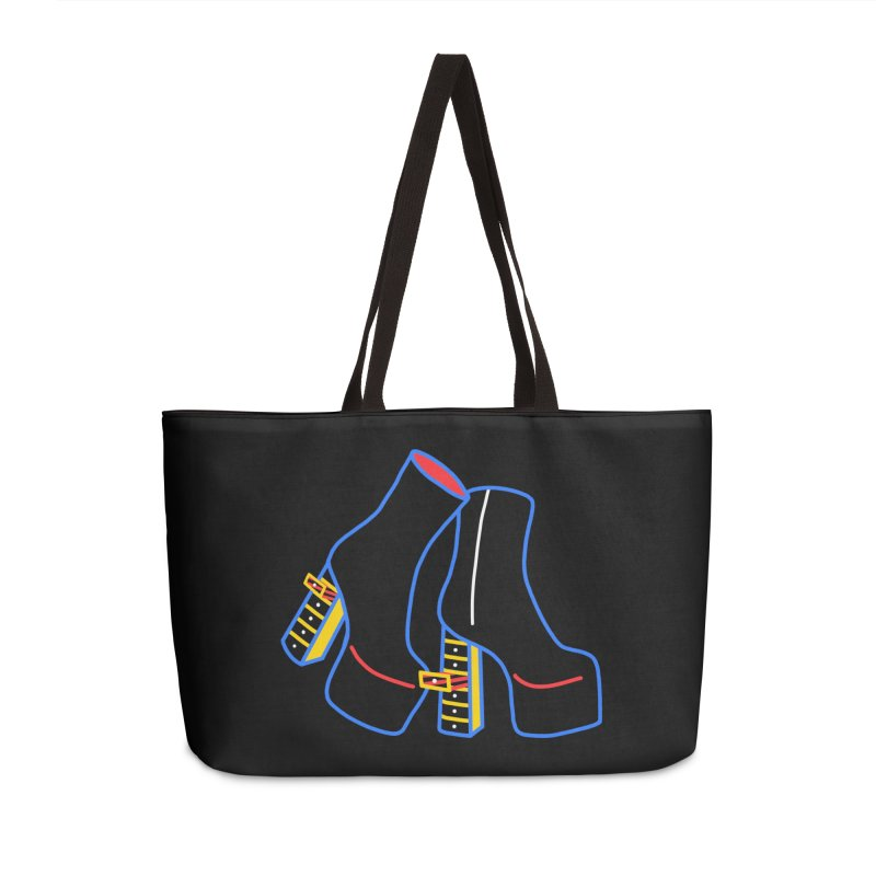 I DESIGNED IT Accessories Weekender Bag Bag by stephupsidefrown's Artist Shop
