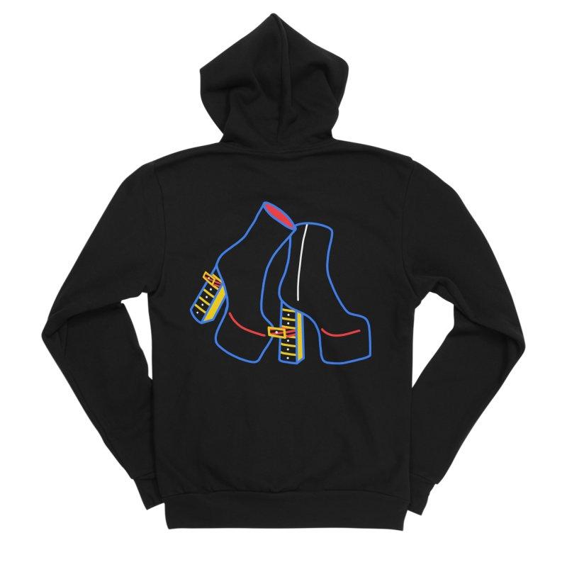 I DESIGNED IT Men's Sponge Fleece Zip-Up Hoody by stephupsidefrown's Artist Shop