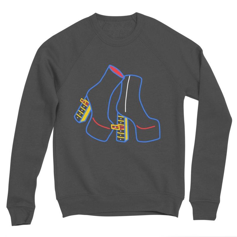 I DESIGNED IT Men's Sponge Fleece Sweatshirt by stephupsidefrown's Artist Shop