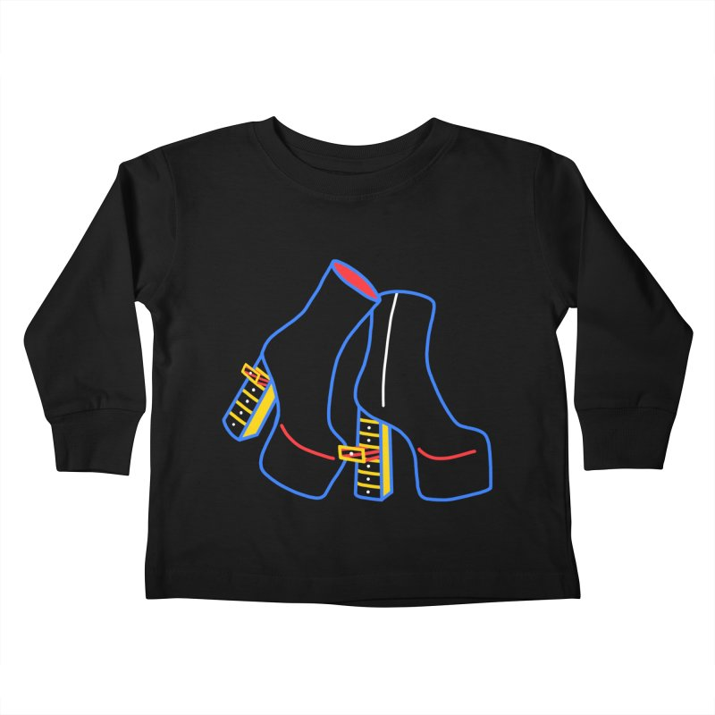 I DESIGNED IT Kids Toddler Longsleeve T-Shirt by stephupsidefrown's Artist Shop