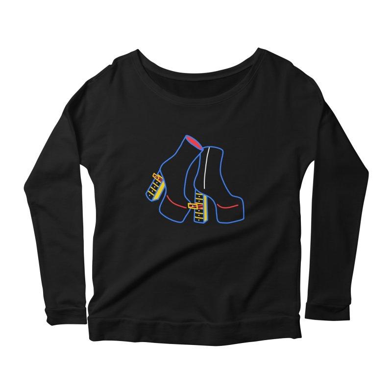 I DESIGNED IT Women's Scoop Neck Longsleeve T-Shirt by stephupsidefrown's Artist Shop