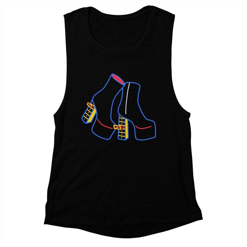 I DESIGNED IT Women's Muscle Tank by stephupsidefrown's Artist Shop