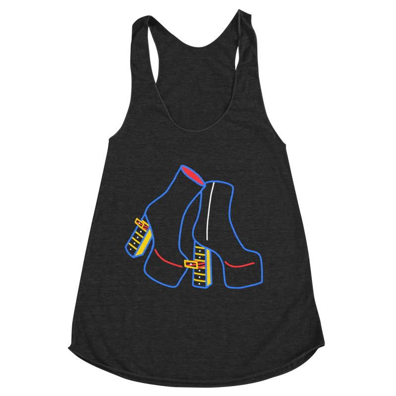 I DESIGNED IT Women's Racerback Triblend Tank by stephupsidefrown's Artist Shop