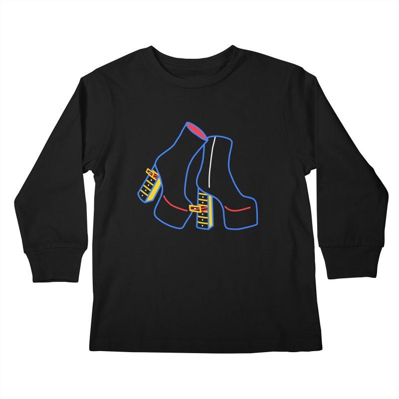 I DESIGNED IT Kids Longsleeve T-Shirt by stephupsidefrown's Artist Shop