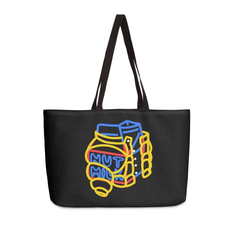 MUT NILK Accessories Weekender Bag Bag by stephupsidefrown's Artist Shop