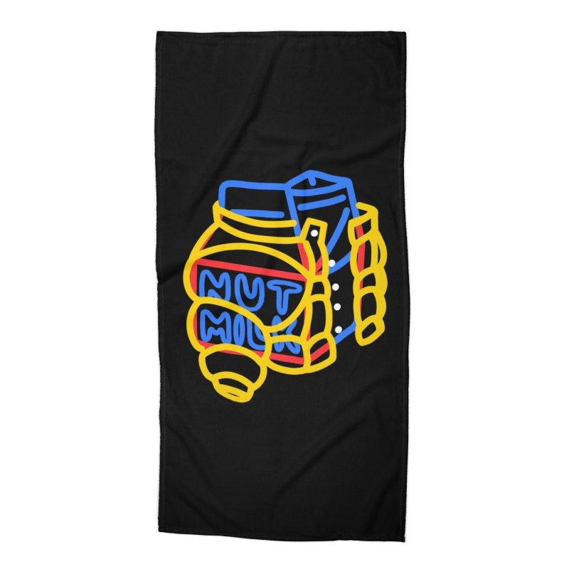 MUT NILK Accessories Beach Towel by stephupsidefrown's Artist Shop