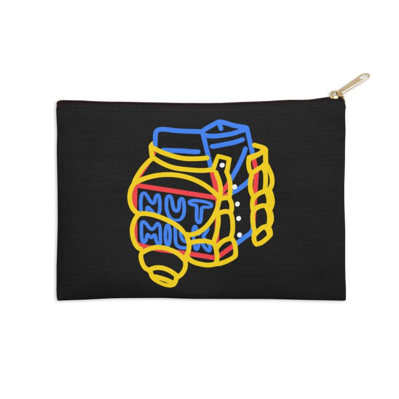 MUT NILK Accessories Zip Pouch by stephupsidefrown's Artist Shop