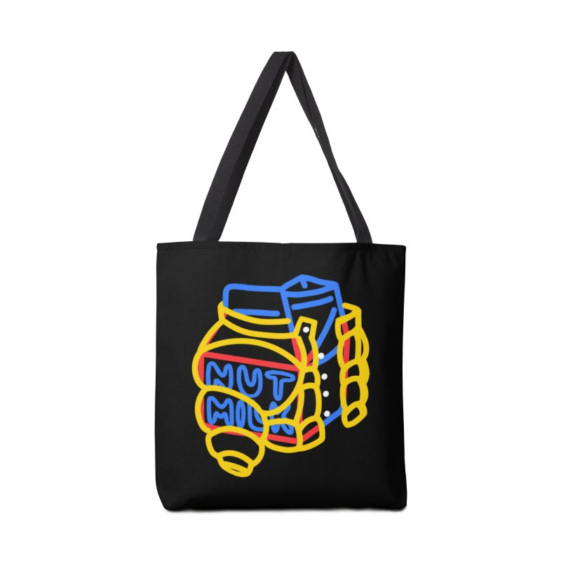 MUT NILK Accessories Tote Bag Bag by stephupsidefrown's Artist Shop