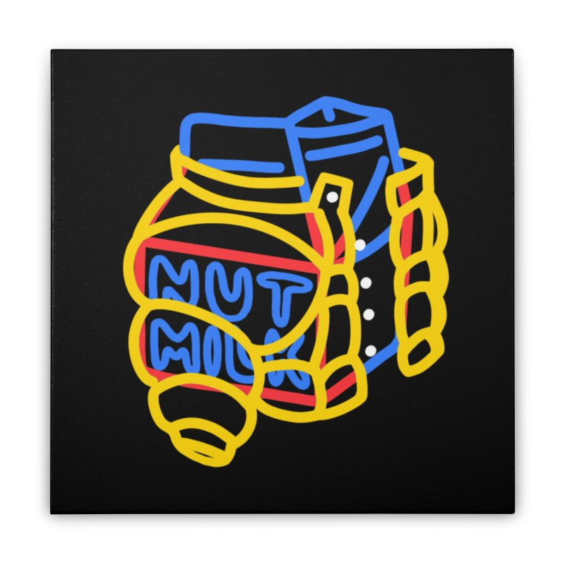 MUT NILK Home Stretched Canvas by stephupsidefrown's Artist Shop