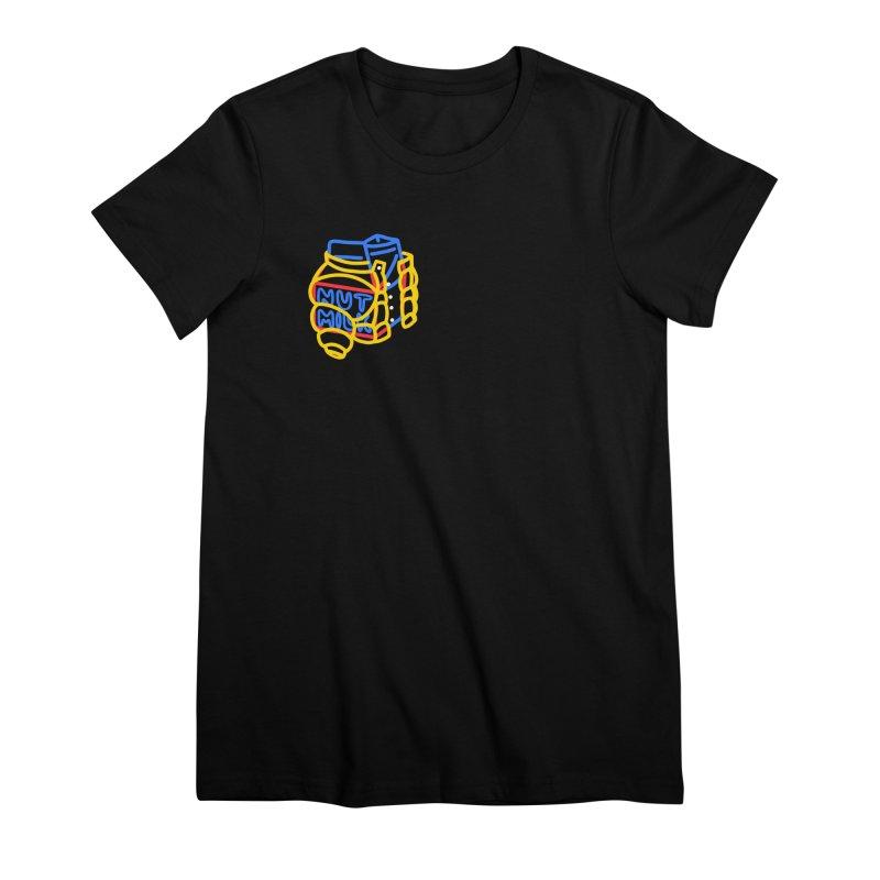 MUT NILK Women's Premium T-Shirt by stephupsidefrown's Artist Shop