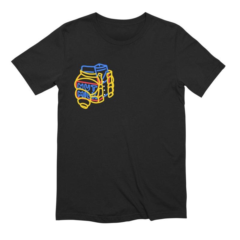 MUT NILK Men's Extra Soft T-Shirt by stephupsidefrown's Artist Shop
