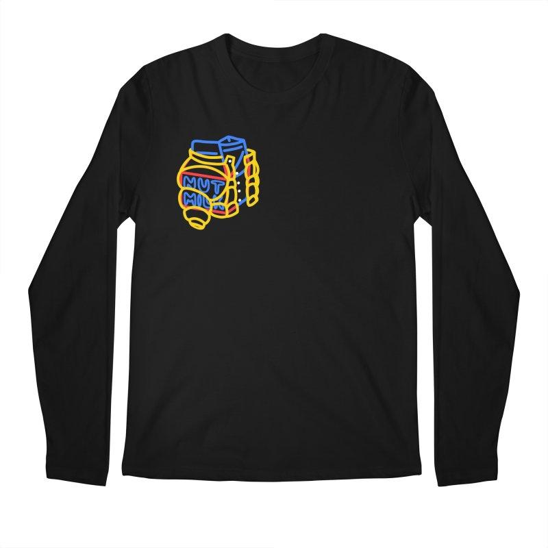 MUT NILK Men's Regular Longsleeve T-Shirt by stephupsidefrown's Artist Shop