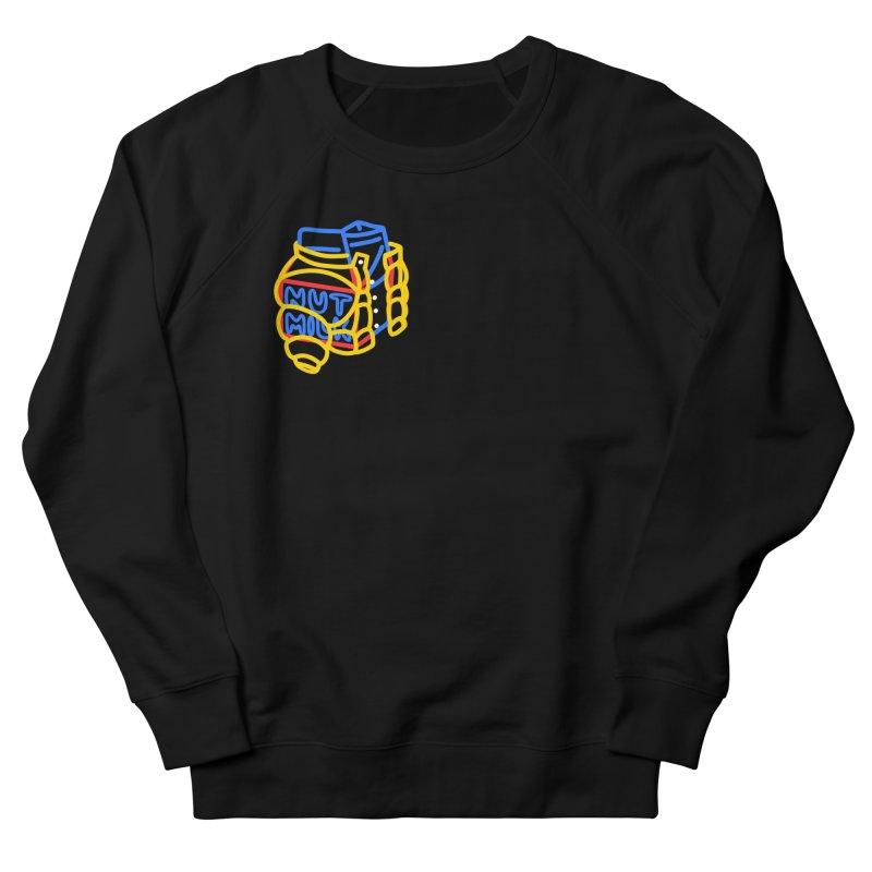 MUT NILK Women's French Terry Sweatshirt by stephupsidefrown's Artist Shop