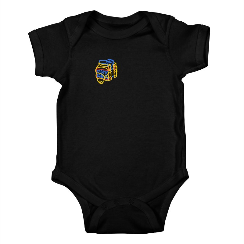 MUT NILK Kids Baby Bodysuit by stephupsidefrown's Artist Shop