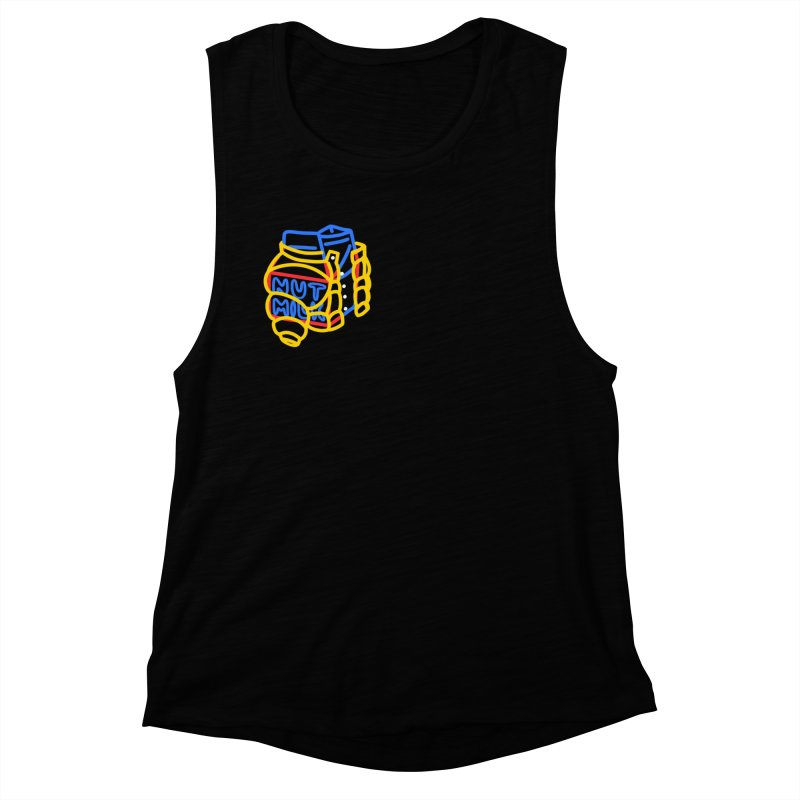 MUT NILK Women's Muscle Tank by stephupsidefrown's Artist Shop