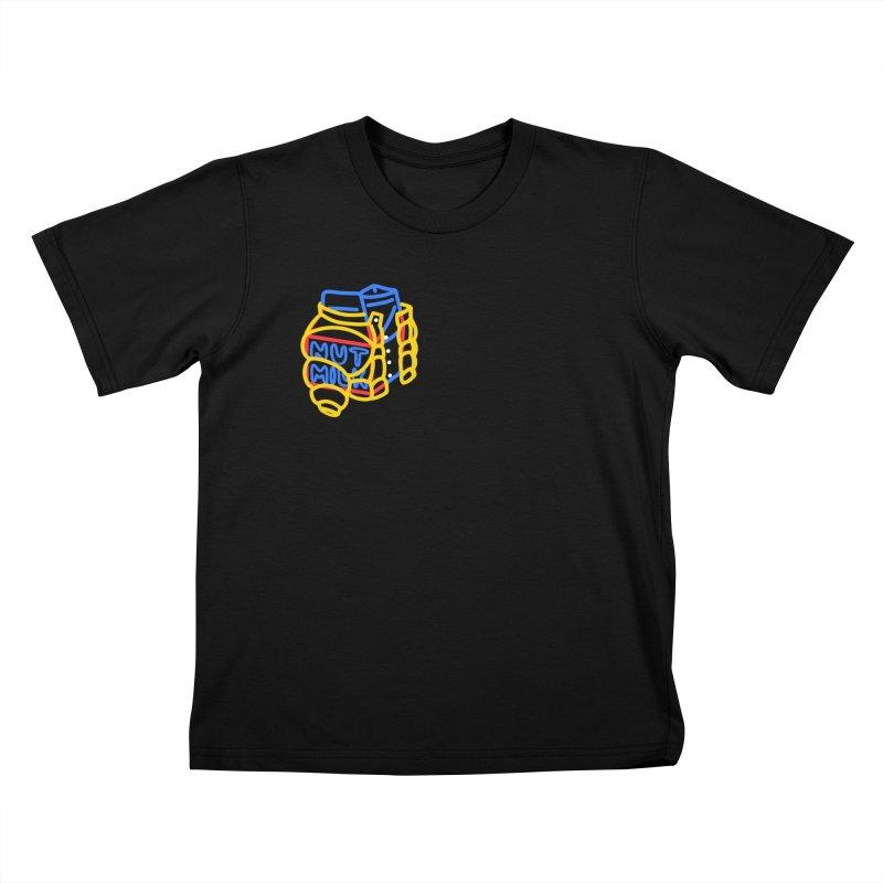 MUT NILK Kids T-Shirt by stephupsidefrown's Artist Shop
