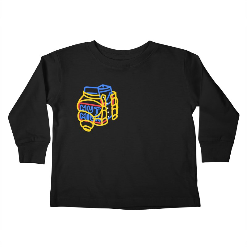 MUT NILK Kids Toddler Longsleeve T-Shirt by stephupsidefrown's Artist Shop