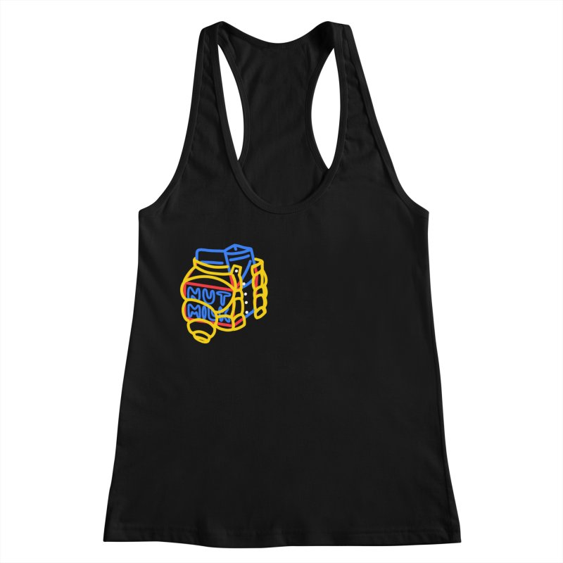 MUT NILK Women's Racerback Tank by stephupsidefrown's Artist Shop