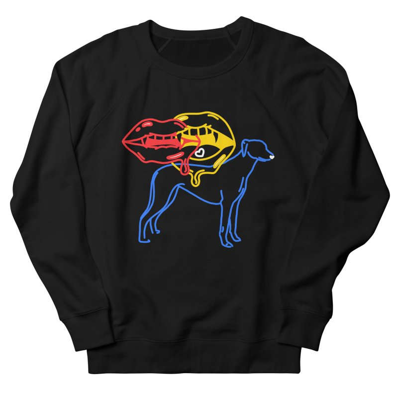 BAD B<3TCHES BITE BACK Men's French Terry Sweatshirt by stephupsidefrown's Artist Shop