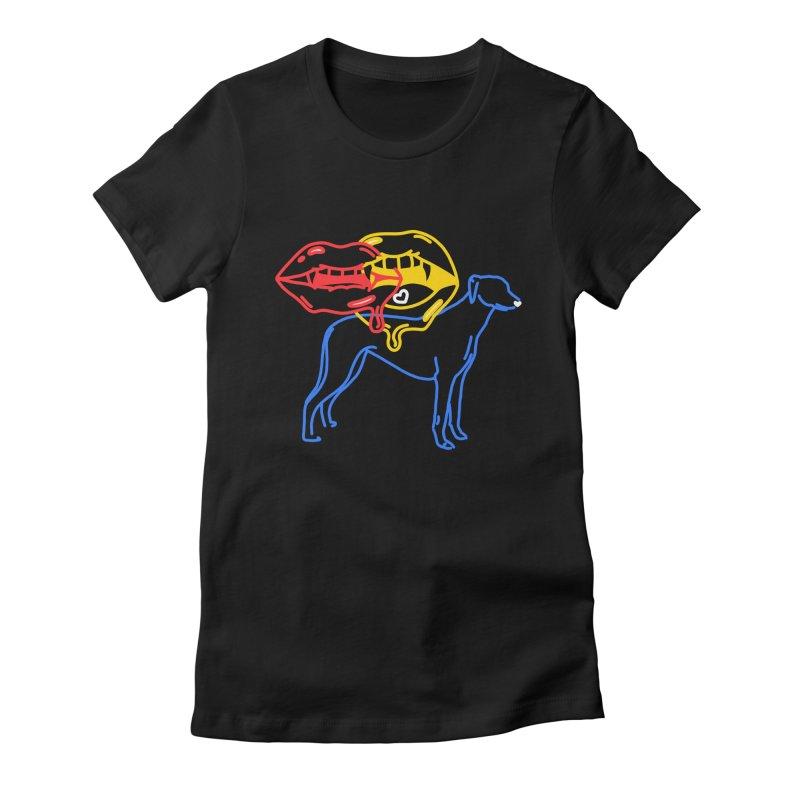 BAD B<3TCHES BITE BACK Women's T-Shirt by stephupsidefrown's Artist Shop