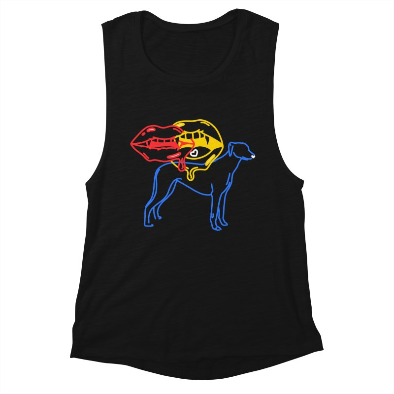BAD B<3TCHES BITE BACK Women's Tank by stephupsidefrown's Artist Shop