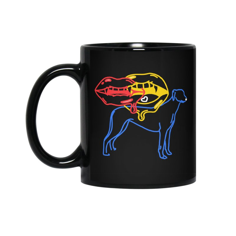 BAD B<3TCHES BITE BACK Accessories Standard Mug by stephupsidefrown's Artist Shop