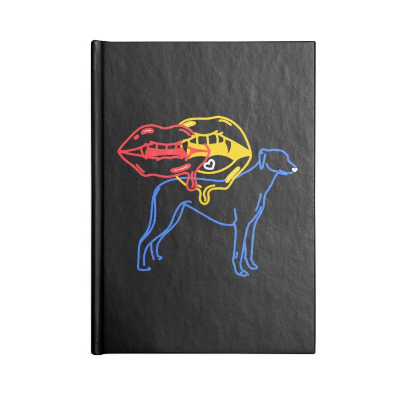 BAD B<3TCHES BITE BACK Accessories Notebook by stephupsidefrown's Artist Shop