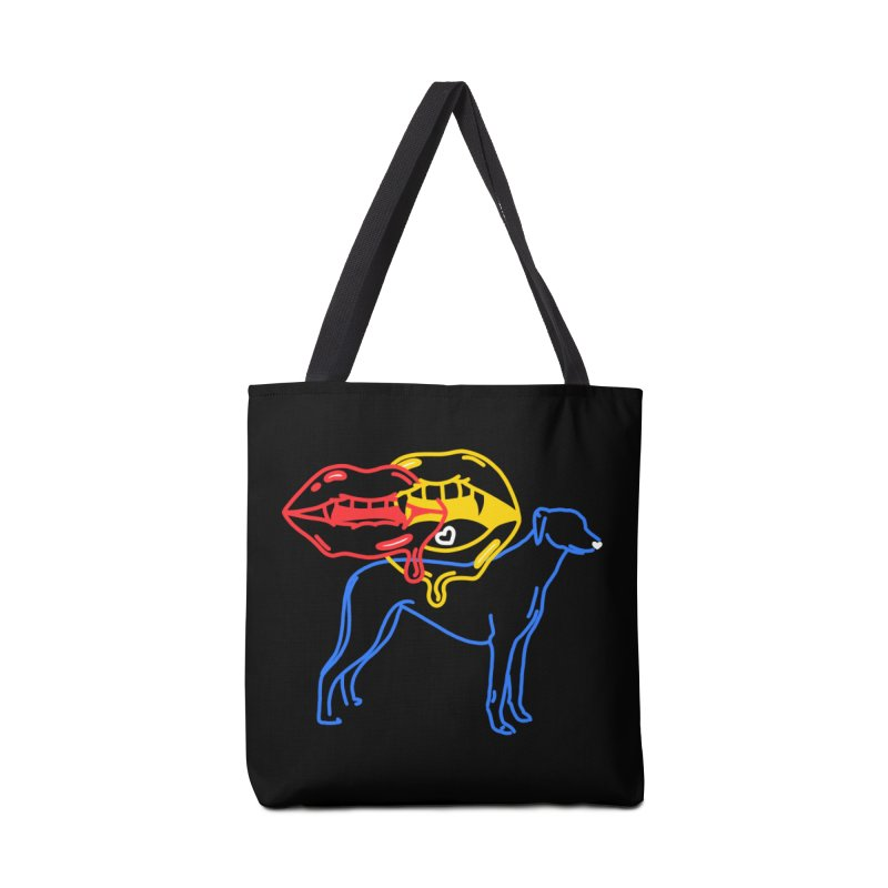 BAD B<3TCHES BITE BACK Accessories Tote Bag Bag by stephupsidefrown's Artist Shop