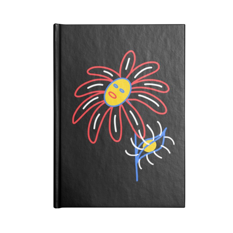 METAL PETALS Accessories Lined Journal Notebook by stephupsidefrown's Artist Shop