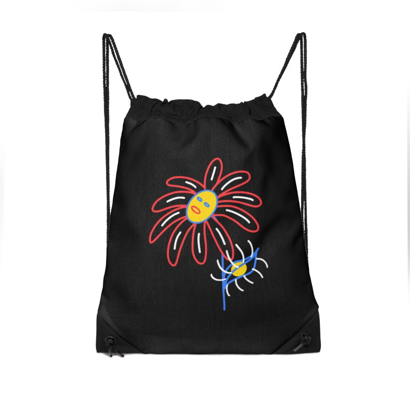 METAL PETALS Accessories Drawstring Bag Bag by stephupsidefrown's Artist Shop