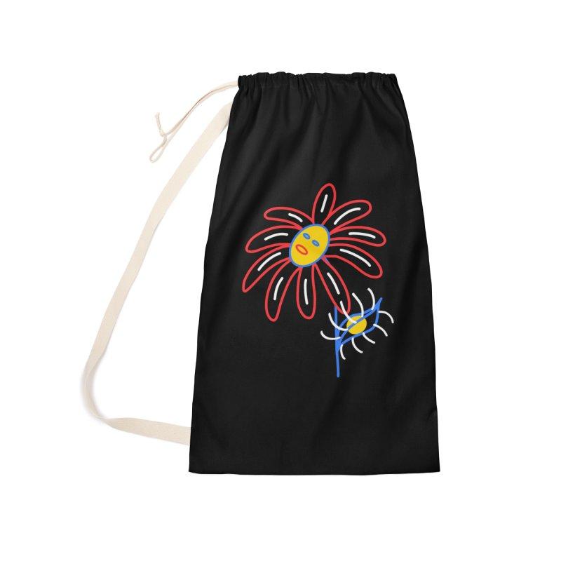 METAL PETALS Accessories Bag by stephupsidefrown's Artist Shop