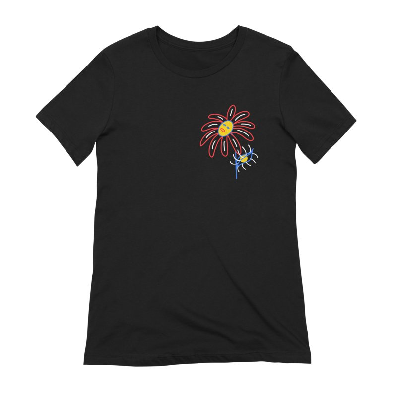 METAL PETALS Women's Extra Soft T-Shirt by stephupsidefrown's Artist Shop