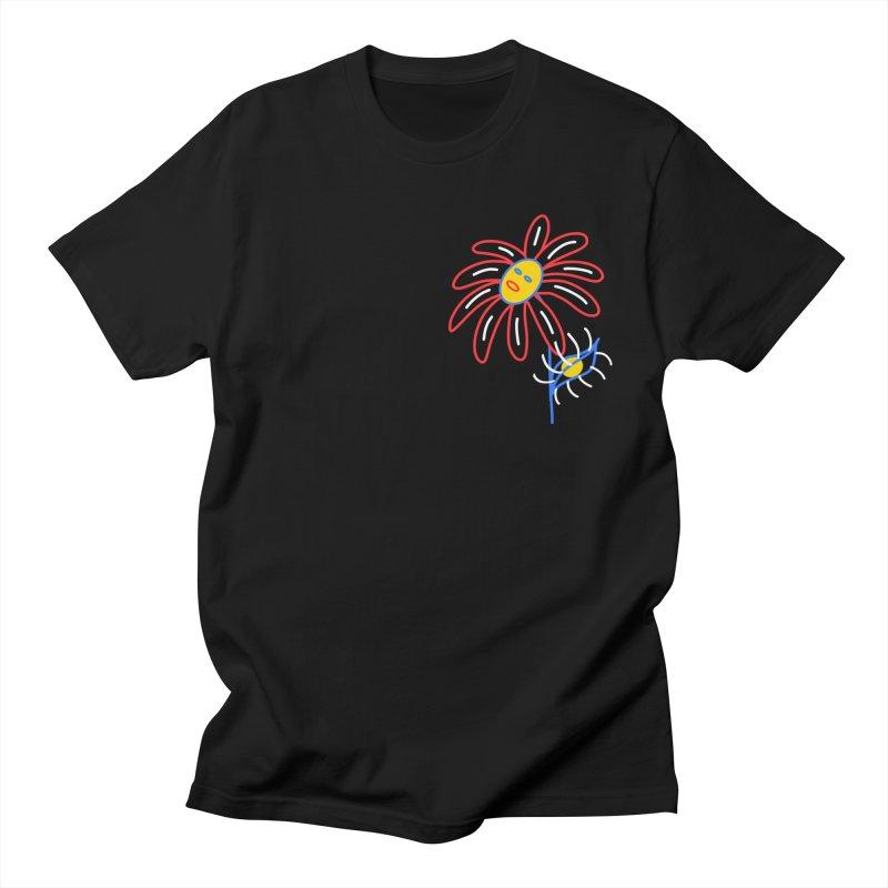 METAL PETALS Men's T-Shirt by stephupsidefrown's Artist Shop