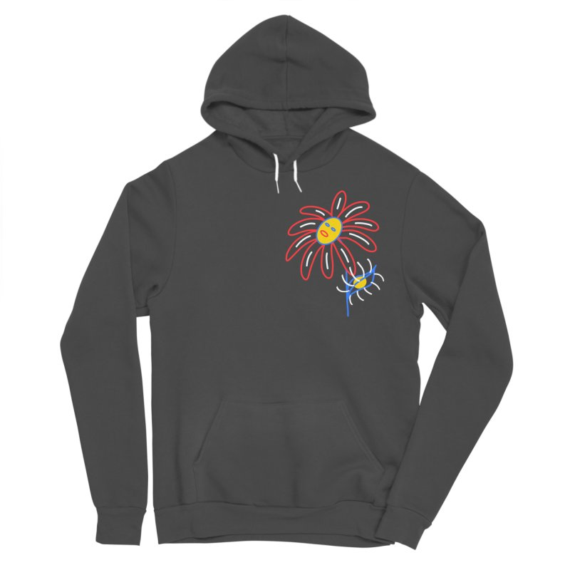 METAL PETALS Men's Sponge Fleece Pullover Hoody by stephupsidefrown's Artist Shop