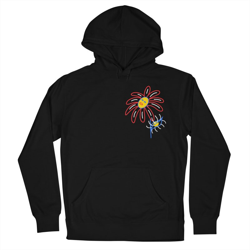 METAL PETALS Men's French Terry Pullover Hoody by stephupsidefrown's Artist Shop