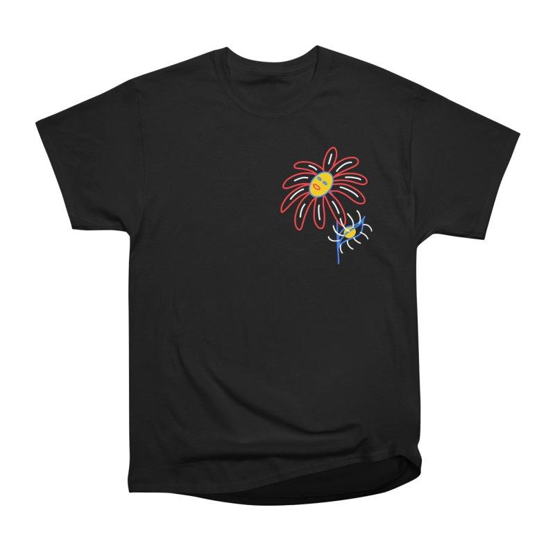 METAL PETALS Men's Heavyweight T-Shirt by stephupsidefrown's Artist Shop